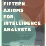 Fifteen Axioms for Intelligence Analysts