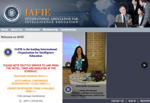 IAFIE is the leading International Organization for Intelligence Education