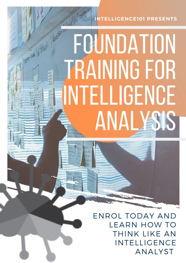 Online Intelligence Course: Foundation Training for Intelligence Analysis