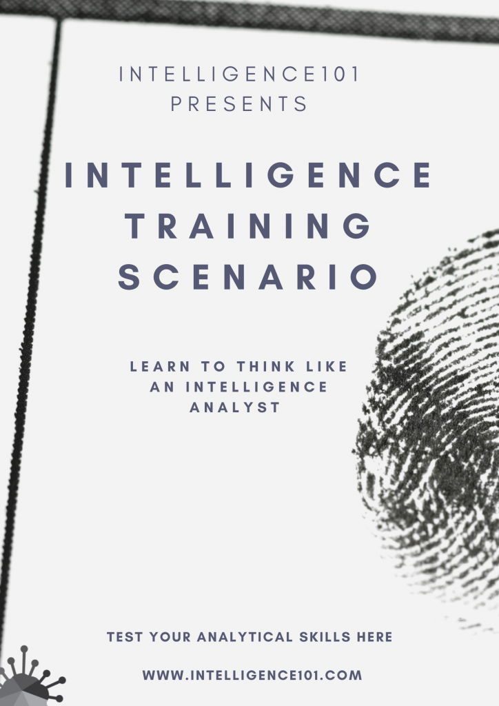 Intelligence Training Scenario – Test Your Analytical Skills Here