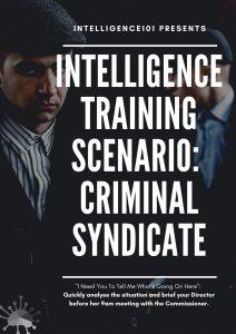 Criminal Intelligence Analysis Scenario - Free Online Intelligence Training
