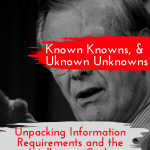 Known Unknowns: Unpacking Information Requirements and the Direction phase of the Intelligence Cycle